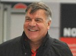 PICTURE BY CHRIS NEILL - 07930-353682 - BIG SAM IS BACK.....!!!!!.....THE NEW SUNDERLAND MANAGER IS PICTURED AT MANCHESTER AIRPORT ON SUNDAY AFTERNOON AFTER FLYING IN FROM HIS VILLA IN SPAIN.....ALLARDYCE WILL TAKE CHARGE AT SUNDERLAND TOMORROW........