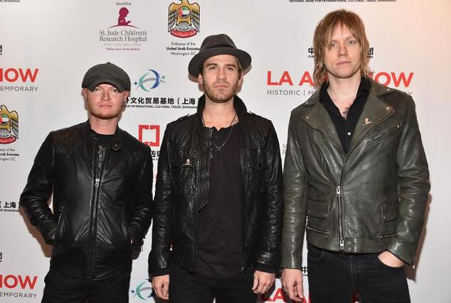 Music group Lifehous arrives at the Los Angeles Convention Center on January 14, 2015 in Los Angeles, California