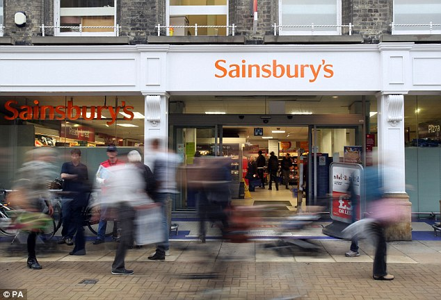 Sainsbury's is to add hotels and flats to its supermarkets in a bid to turn around a sales slump (file picture)
