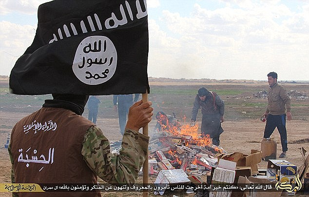 The Islamic State has outlawed smoking in its self-declared Caliphate, and has carried out mass burning of cigarettes in an attempt to deter fighters from taking up the habit