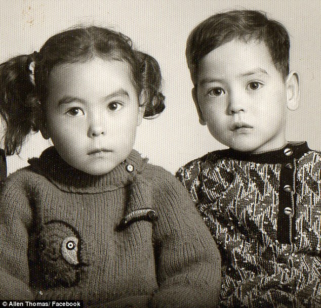 Estranged: A black and white photo of twins Sandia and James Thomas, who were adopted without their dad's consent