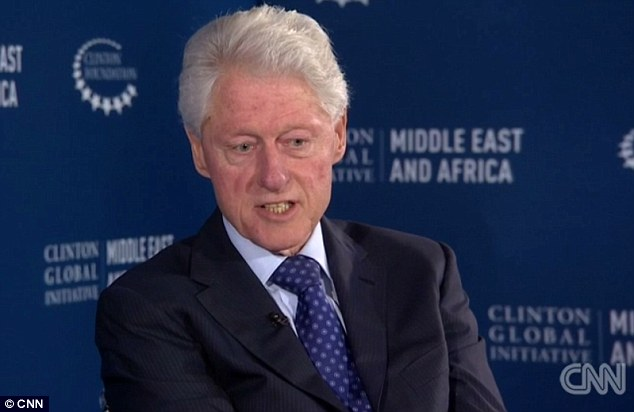 'We have too many people in prison': Bill Clinton conceded his wife Hillary is moving away from the crime bill he implemented in 1994, admitting that it led to today's era of mass incarceration