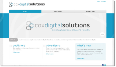 Cox Digital Solutions Screenshot