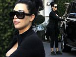 Exclusive... 51972699 Reality star Kim Kardashian stops by the Epitome Dermatology clinic in West Hollywood, California on February 16, 2016. Like the rest of the world Kim is tired of husband Kanye West's Twitter rants. FameFlynet, Inc - Beverly Hills, CA, USA - +1 (310) 505-9876
