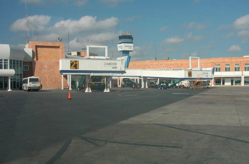 Cancun International Airport in Mexico