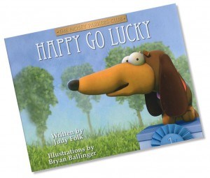 """Book cover of """"Happy Go Lucky"""""""