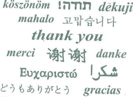 thanks: