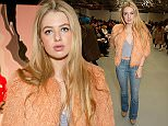 LONDON, ENGLAND - FEBRUARY 20:  Anais Gallagher attends the SIBLING show during London Fashion Week Autumn/Winter 2016/17 at Brewer Street Car Park on February 20, 2016 in London, England.  (Photo by David M. Benett/Dave Benett/Getty Images)