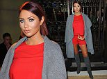 LONDON, ENGLAND - FEBRUARY 20:  Amy Childs attends the Ashley Isham show during London Fashion Week Autumn/Winter 2016/17 at  on February 20, 2016 in London, England.  (Photo by Eamonn M. McCormack/Getty Images)