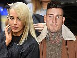 CELEBRITY BIG BROTHER STAR STEPH DAVIS SPENDS OVER 10  HOURS AT VOODOU HAIR SALON GETTING HER HAIR DYED BLONDE AND CUT IN TO A BOB AND EVEN GETS A VISIT FROM CHRIS MALONEY \\n\\n***iCelebTV.com***\\n\\n***EXC ALL ROUND***\\n\\n