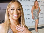 """LAS VEGAS, NV - FEBRUARY 21:  Singer/songwriter Mariah Carey arrives at 1 OAK Nightclub at the Mirage Hotel & Casino as she celebrates the second run of her Caesars Palace residency """"MARIAH #1 TO INFINITY"""" on February 21, 2016 in Las Vegas, Nevada.  (Photo by Mindy Small/FilmMagic)"""