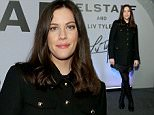 LONDON, ENGLAND - FEBRUARY 21:  Liv Tyler attends/during the Belstaff Presentation during London Fashion Week Autumn/Winter 2016/17 at 1 Marylebone Road on February 21, 2016 in London, England.  (Photo by Mike Marsland/WireImage)