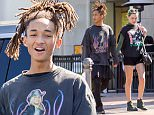 EXCLUSIVE: Jaden Smith seen holding hands with Sarah Snyder as they leave lunch at Le pain quotidien in Calabasas, CA.  They then grabbed a smoothie to go from SunLife Organics.  Sarah was seen getting into the drivers seat of a new Tesla model x.\n\nPictured: Jaden Smith and Sarah Snyder\nRef: SPL1231360  200216   EXCLUSIVE\nPicture by: VIPix / Splash News\n\nSplash News and Pictures\nLos Angeles: 310-821-2666\nNew York: 212-619-2666\nLondon: 870-934-2666\nphotodesk@splashnews.com\n