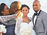 Exclusive... 51976646 Celebrities attend rapper Ne-Yo and Crystal Renay's wedding in Palos Verdes, California on February 20, 2016.   The couple had a cliffside wedding, which overlooked the ocean.  Many of the couple's friends and family attended and celebrated their special day. FameFlynet, Inc - Beverly Hills, CA, USA - +1 (310) 505-9876