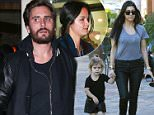 Picture Shows: Penelope Disick, Kourtney Kardashian  February 20, 2016\n \n Reality star and busy mom Kourtney Kardashian is spotted out and about in Calabasas, California after enjoying lunch at Sugar Fish with her daughter Penelope. Kourtney was sporting a see through t-shirt during the outing.\n \n Non-Exclusive\n UK RIGHTS ONLY\n \n Pictures by : FameFlynet UK © 2016\n Tel : +44 (0)20 3551 5049\n Email : info@fameflynet.uk.com