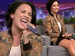 """Published on Feb 19, 2016\nJimmy challenges Demi to a game of random musical impressions, such as Fetty Wap singing """"Twinkle Twinkle Little Star."""""""