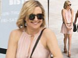EXCLUSIVE: Kate Hudson wearing a pleated mini dress while out in Miami.\n\nRef: SPL1231855  200216   EXCLUSIVE\nPicture by: Splash News\n\nSplash News and Pictures\nLos Angeles: 310-821-2666\nNew York: 212-619-2666\nLondon: 870-934-2666\nphotodesk@splashnews.com\n