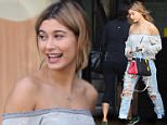 Hailey Baldwin has coffee at Alfred on Melrose Place.\n\nPictured: Hailey Baldwin\nRef: SPL1233358  220216  \nPicture by: LA Photo Lab\n\nSplash News and Pictures\nLos Angeles: 310-821-2666\nNew York: 212-619-2666\nLondon: 870-934-2666\nphotodesk@splashnews.com\n