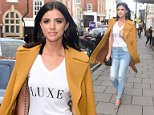 22 February 2016. lucy mecklenburgh is seen at the Aspinal fashion show in london Credit: Warner/Eade/GoffPhotos.com   Ref: KGC-102/195
