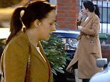 Picture Shows: Natalie Cassidy  February 18, 2016    Actress Natalie Cassidy was seen for the first time today since it was reported that she is expecting her second child.    The 'EastEnders' star who recently made a return to the BBC soap as lesbian Sonia Fowler, wore a brown dressing gown style coat tied together with a matching belt although a bump could clearly be seen underneath.  She matched the outfit with white wellington style boots as the ran errands in Welwyn Garden City in Hertfordshire.     Earlier in the day her partner Marc Humphreys bought two cakes and a loaf of bread, later she visited John Lewis with her daughter Eliza.    Exclusive All Rounder  WORLDWIDE RIGHTS    Pictures by : FameFlynet UK © 2016  Tel : +44 (0)20 3551 5049  Email : info@fameflynet.uk.com