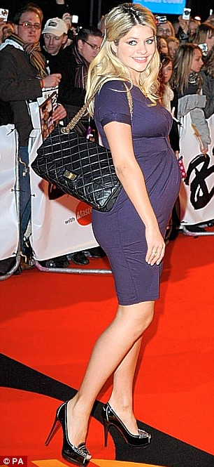 Holly Willoughby arriving for the BRIT Awards, at Earls Court