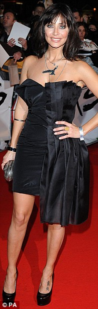 Natalie Imbruglia arriving for the BRIT Awards, at Earls Court, central London