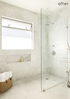 Bathroom Bliss. Spectacular bath and shower remodel by Lori Pepe-Lunché