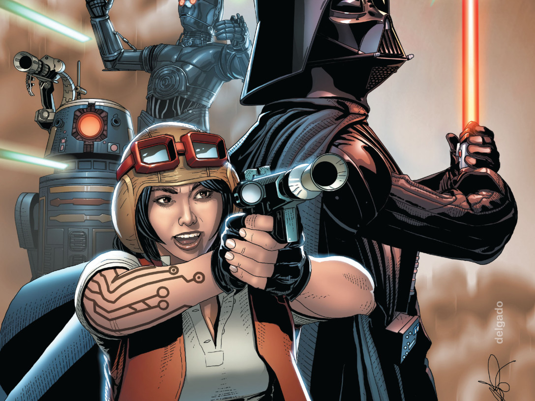 Vader #8 cover