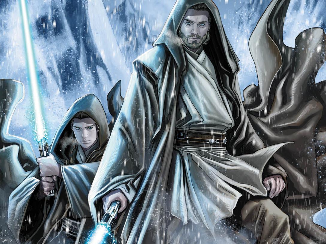 Star Wars: Obi-Wan and Anakin cover