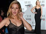 23 February 2016.\nLFW a/w 2016: Outside arrivals of the ELLE Style Awards 2016 held at Tate Britain, Millbank, London.\nPictured, Ellie Goulding\nCredit: Warner/Eade/GoffPhotos.com   Ref: KGC-102/195\n