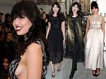 Picture Shows: Daisy Lowe  February 23, 2016    Celebrities arrive at the Emilio de la Morena show during London Fashion Week at Cafe Royal in London, England.    Non Exclusive  WORLDWIDE RIGHTS    Pictures by : FameFlynet UK © 2016  Tel : +44 (0)20 3551 5049  Email : info@fameflynet.uk.com