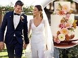 MUST LINK TO: http://www.marthastewartweddings.com/node/409786/jamie-chung-bryan-greenberg-wedding-photos?socsrc=press\n\nThe date: \nFor their big day, the couple decided to combine themes with another holiday, launching a three-day celebration with a welcome dinner on Halloween eve,¿costumes required¿followed by exchanging vows on Halloween, and rounding out with pancake and bacon brunch the following morning. \n\nThe location:\nSince the only thing the two love as much as a great party is the great outdoors, Jamie and Bryan hosted the weekend at El Capitan Canyon, a nature-chic resort near El Capitan State Beach in California, outside of Santa Barbara.  \n\nThe colors:\nTo complement the beautiful setting of mountains, groves of oak and sycamore trees, Jamie gave her planner, Lisa Vorce, a photo of a sunset as inspiration for the peach, pink and neutral palette.\n\nThe rehearsal dinner:\nThe fun kicked off at the couple¿s ¿Boos & Booze¿ bash, complete with ghosts, ghouls, and glamo