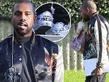 Malibu, CA - Kanye West arrives at his fashion studio with McDonalds in hand. The rapper is wearing black ripped jeans and a silk bomber jacket. Kanye sips on a milkshake as he walks inside with a friend. \nAKM-GSI        February 22, 2016\nTo License These Photos, Please Contact :\nSteve Ginsburg\n(310) 505-8447\n(323) 423-9397\nsteve@akmgsi.com\nsales@akmgsi.com\nor\nMaria Buda\n(917) 242-1505\nmbuda@akmgsi.com\nginsburgspalyinc@gmail.com