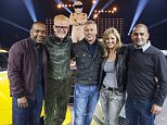 For use in UK, Ireland or Benelux countries only  BBC handout photo of Top Gear presenters (left to right)  Rory Reid , Chris Evans, Matt LeBlanc, Sabine Schmitz, Chris Harris at BBC Worldwideís TV sales event Showcase in Liverpool as the new look programme is launched to market.  PRESS ASSOCIATION Photo. Issue date: Monday February 22, 2016. See PA story SHOWBIZ TopGear. Photo credit should read: John Rogers/BBC Worldwide /PA Wire NOTE TO EDITORS: Not for use more than 21 days after issue. You may use this picture without charge only for the purpose of publicising or reporting on current BBC programming, personnel or other BBC output or activity within 21 days of issue. Any use after that time MUST be cleared through BBC Picture Publicity. Please credit the image to the BBC and any named photographer or independent programme maker, as described in the caption.