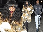Celebrities attend Matthew Freud's private party in North London.  24 February 2016. Please byline: Vantagenews.com