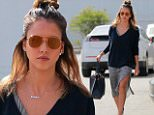 """eURN: AD*197518302  Headline: Jessica Alba heads into her Honest office amidst a new lawsuit against it Caption: 23.February.2016 - Santa Monica - USA *** STRICTLY AVAILABLE FOR UK AND GERMANY USE ONLY *** Santa Monica, CA - Jessica Alba heads into her """"Honest"""" office after it had recently been hit with another lawsuit. Alba's company brands itself to use natural and plant-based ingredients in it's products but has recently been accused of using harsh chemicals in many of it's products such as laundry detergent and baby soap. The chemicals said to be found in the products include henoxyenthanol and methylisothiazolinone. The Honest Company says that these statements are untrue and will defend their name in court.  BYLINE MUST READ : AKM-GSI-XPOSURE ***UK CLIENTS - PICTURES CONTAINING CHILDREN PLEASE PIXELATE FACE PRIOR TO PUBLICATION *** *UK CLIENTS MUST CALL PRIOR TO TV OR ONLINE USAGE PLEASE TELEPHONE 0208 344 2007*  Photographer: AKM-GSI-XPOSURE  Loaded on 23/02/2016 at 21:17 Copyr"""
