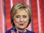 Democratic presidential candidate Hillary Clinton gestures during a commercial break at a CNN town hall style televised event at the University of South Carolina School of Law, in Columbia, S.C., Tuesday, Feb. 23, 2016. (AP Photo/Gerald Herbert)
