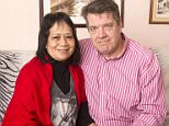 Perry and Violete Beaver from Crawley in Surrey who have been refused a pay out by their life assurance company even though Violete has been diagnosed with terminal breast cancer. Picture David Parker  17.02.16