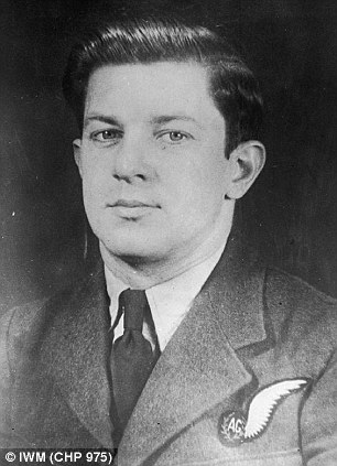 Honoured: Andrew Mynarski was the last Canadian airman to be awarded the Victoria Cross in the Second World War