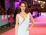 """LONDON, ENGLAND - FEBRUARY 09:  Alison Brie attends the UK Premiere of """"How To Be Single"""" at Vue West End on February 9, 2016 in London, England.   Pic Credit: Dave Benett"""