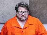 Jason Dalton is seen on closed circuit television during his arraignment in Kalamazoo County, Michigan on February 22, 2016. The Michigan Uber driver charged with murdering six people had to change vehicles after sideswiping a car at the start of the shooting spree, authorities said on Tuesday, adding they seized his phone in the hopes of identifying a motive for the killings.   REUTERS/Kalamazoo County Court/Handout via Reuters           FOR EDITORIAL USE ONLY. NOT FOR SALE FOR MARKETING OR ADVERTISING CAMPAIGNS. THIS IMAGE HAS BEEN SUPPLIED BY A THIRD PARTY.  THIS PICTURE WAS PROCESSED BY REUTERS TO ENHANCE QUALITY. AN UNPROCESSED VERSION HAS BEEN PROVIDED SEPARATELY