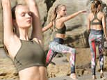 eURN: AD*197967292  Headline: Josephine Skriver Performers Yoga Poses for a Victoria's Secret Shoot Caption: February 26, 2016: Josephine Skriver shows how yoga can make you fit as she strikes a variety of yoga poses on a beach rock in the sands of Malibu while shooting for Victoria's Secret catalog, Malibu, CA. Mandatory Credit: Borisio/SAA/INFphoto.com Ref.: infusla-277/302 Photographer: infusla-277/302 Loaded on 27/02/2016 at 10:37 Copyright:  Provider: Borisio/SAA/INFphoto.com  Properties: RGB JPEG Image (5861K 1059K 5.5:1) 1155w x 1732h at 300 x 300 dpi  Routing: DM News : GeneralFeed (Miscellaneous) DM Showbiz : SHOWBIZ (Miscellaneous) DM Online : Online Previews (Miscellaneous), CMS Out (Miscellaneous)  Parking:
