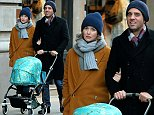Australian actress Rose Byrne and Bobby Cannavale take their son Rocco Cannavale for a  walk in a baby stroller in New York City on February 26, 2016.\n\nPictured: Rose Byrne,Bobby Cannavale,Rocco Cannavale\nRef: SPL1236551  260216  \nPicture by: Christopher Peterson/Splash News\n\nSplash News and Pictures\nLos Angeles: 310-821-2666\nNew York: 212-619-2666\nLondon: 870-934-2666\nphotodesk@splashnews.com\n
