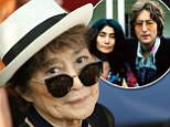 Yoko Ono, 83, is hospitalized for the flu in New York City