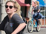 EXCLUSIVE. Coleman-Rayner. Venice, CA, USA. \nFebruary 26, 2016\nKesha is seen enjoying a bike ride with friends in Venice Beach despite news of her legal battle against producer Dr. Luke. It was announced earlier this week that the singer is unable to be released from her contract with the producer and stars have been rallying in her support.\nCREDIT LINE MUST READ: RF/Coleman-Rayner\nTel US (001) 310-474-4343 - office \nTel US (001) 323 545 7584 - cell\nwww.coleman-rayner.com \n