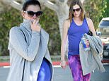 EXCLUSIVE: Heavily pregnant actress  Anne Hathaway hits the gym in West Hollywood\n\nPictured: Anne Hathaway\nRef: SPL1235654  250216   EXCLUSIVE\nPicture by: Splash News\n\nSplash News and Pictures\nLos Angeles: 310-821-2666\nNew York: 212-619-2666\nLondon: 870-934-2666\nphotodesk@splashnews.com\n