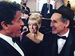 Mark Rylance !!Congratulations on your award. .. could not go to a more consummate actor and gentlemen. It was a privilege . Keep punching, Mark!