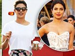 EXCLUSIVE TO INF.\nFebruary 29, 2016: Actress Priyanka Chopra is seen near her trailer as she prepares to start filming for the Baywatch movie in Miami.\nMandatory Credit: INFphoto.com Ref: infusmi-11/13