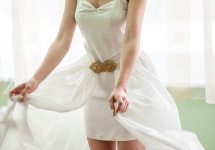 My dream wedding dress was made of comfort and simplicity