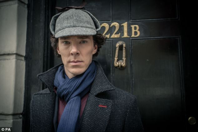 Big hit in China: Benedict Cumberbatch as Sherlock Holmes in the hit BBC show Sherlock, which was banned by censors in a crackdown aimed at sexual content